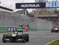Début du Grand Prix d'Australie 2014 à Melbourne, le 16 Mars