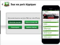 L'application PMU.fr avec iBeacon sur iPhone