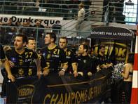 Dunkerque a remporté le championat de D1 pour la saision 2013-2014