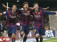 La victoire de Barcelone au championnat d'Espagne 2015